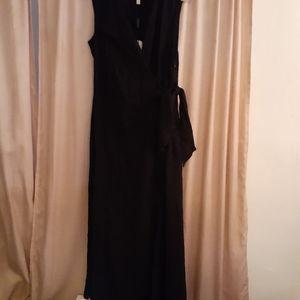 Black event party dress